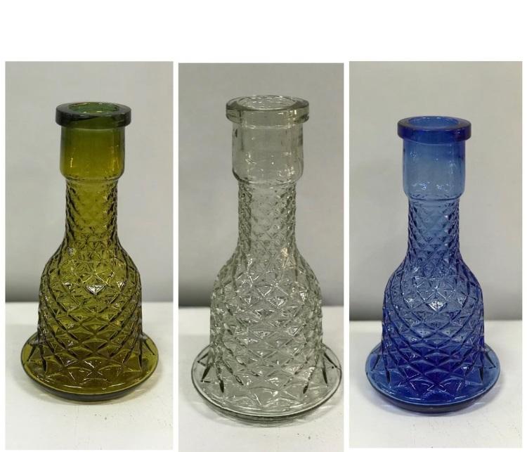 Kahveci nargile şişesi - yedek cam
