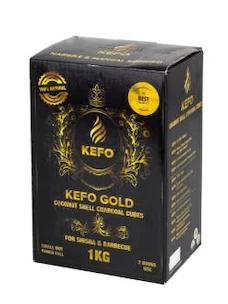 Kefo gold 1 kg nargile kömürü